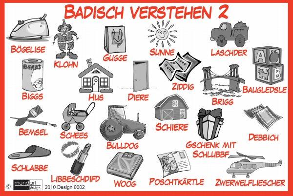 Badischer Dialekt übersetzer
